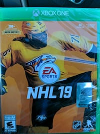 NHL 19 sealed xbox one!! Surrey, V3T 0A3