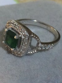 Women's silver ring with diamonds  Toronto, M6H 2X6