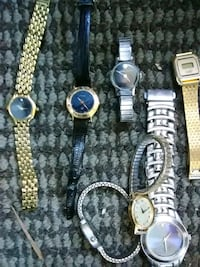 three assorted watches with link bracelets Manassas, 20109