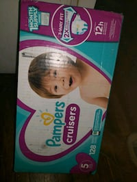 Pampers cruisers size 5 128 ct
