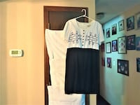 Navy Blue & White Size 16 Another Thyme Dress East Hartford, 06118