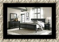 11pc black Marley bedroom set Herndon, 20171