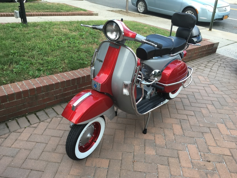 Photo Vespa Px 1980 Vintage Restored