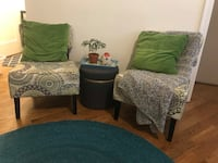 2 Chairs for Sale / Price negotiable Chicago, 60611