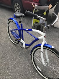 Blue and white cruiser bike Germantown, 20876