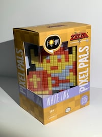 Pixel Pals White Link Light Up Figure Magna, 84044