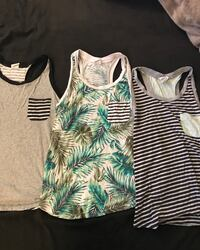 white and green tank top Kennewick, 99336