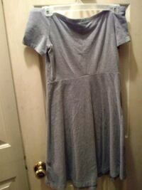 Old navy gray off the shoulder fit and flare dress Centerville, 31028