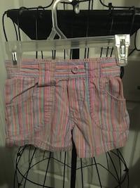 Girls multicolored striped shorts 4t nwot by Circo Blue Ash, 45242