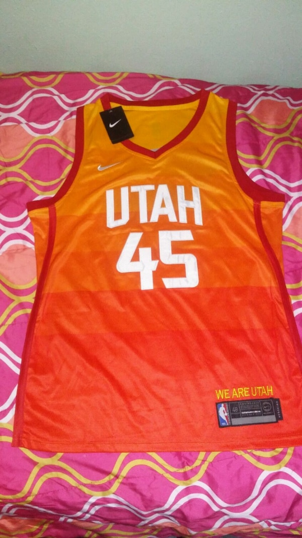 online store b9073 7f152 Utah Jazz City Edition Jersey