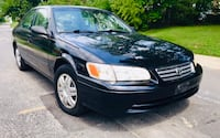 Black 2000 Toyota Camry ' Leather Seats Sunroof Clean Title Cold Ac