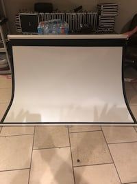 72 inch projection screen
