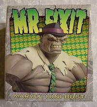 Mr. Fixit Incredible Hulk mini bust from Bowen. #425 from 2000 Miami, 33126