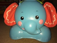 3 IN ONE FISHER PRICE RIDE, STRIDE AND BOUNCE ALONG ELEPHANT