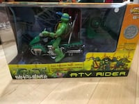 green and black TMNT action figure Montreal, H3S 1L6