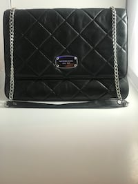 black leather quilted crossbody bag Edmonton, T6A 2C5
