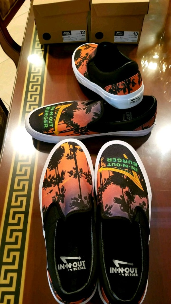 Used In-n-out brand new shoes collectable size 12 for sale in Los Angeles -  letgo 5898b6120