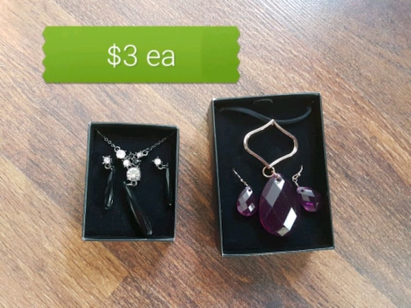 Necklace earing sets avon