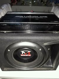 Macustic Bass Ve Audioline Anfi