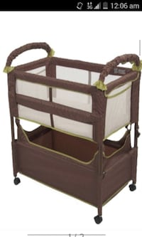 Clear-VUE arms reach co-sleeper