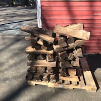 Seasoned Firewood Delivered / Stacked Free