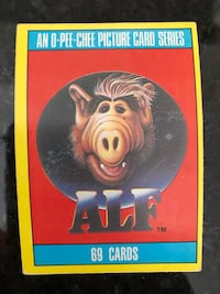 1987 ALF Trading Cards.