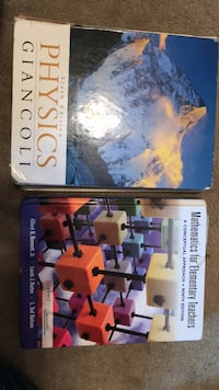 Textbooks-$3 each 1 km