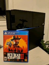 PS4 500gb with Red dead redemption 2  219 mi