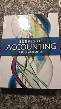 Accounting Textbook Hull, J8X 3N8