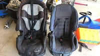 two toddler's black car seats London, N5X 0J4