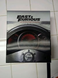 The Fast & the Furious 7-Movie Blu-Ray Collection Fairfax