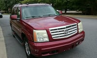 Cadillac - Escalade - 2004 Washington