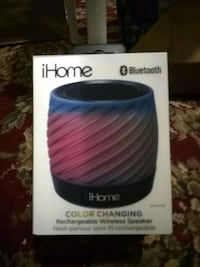 Ihome Colour changing bluetooth speaker