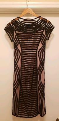 Black/nude dress (size 4-6) - never worn Bethesda