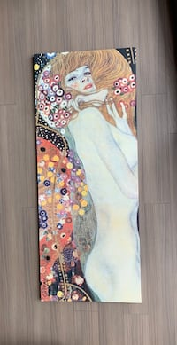"""""""Water Serpents"""" by Gustav Klimt - Painting Print on Wrapped Canvas Boston, 02199"""
