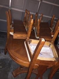 6 chair dining table  Lancaster, 93535