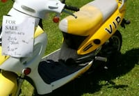 yellow and white motor scooter 364 km