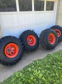 Jeep Super Swampers wheels and tires