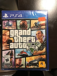 Sony ps4 grand theft auto five  Montréal, H4B