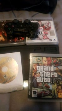 Ps3 with games and controller  Edmonton, T5H 3H6