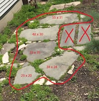 Bluestone Slabs * * * just in time for Fall landscape projects- $325 (Logan Square) Chicago