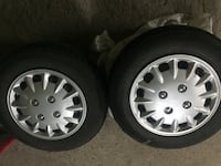 Two gray bmw multi-spoke auto wheels with tires Montréal, H8Y 1X3
