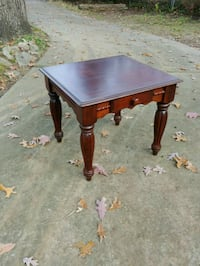 Refinished Mahagony Side Table Raleigh