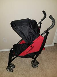 Baby's black and red stroller Edmonton, T5Y 3P8