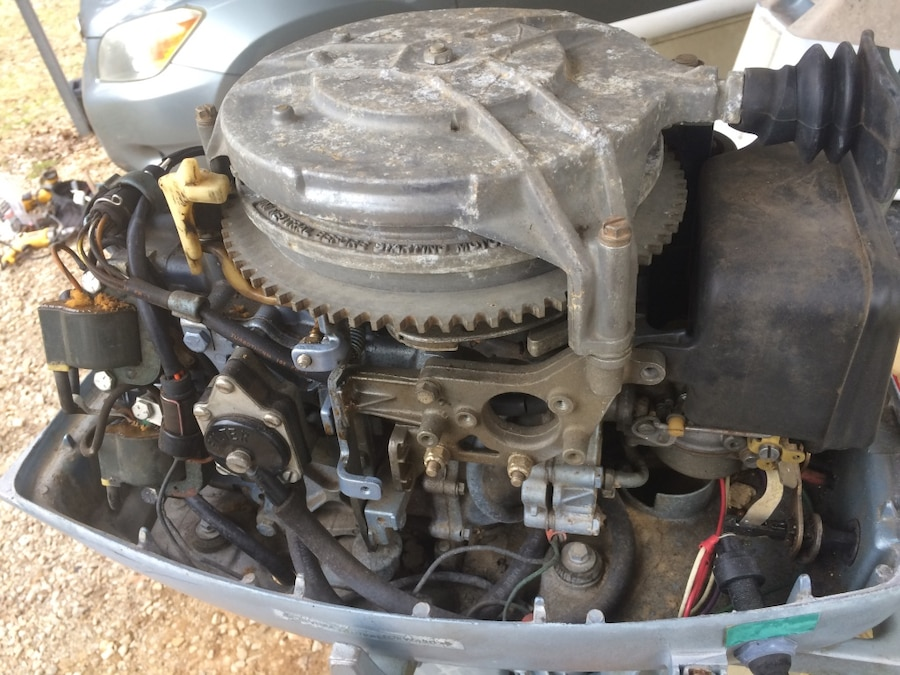 Letgo Evinrude 25hp Electric Start Motor In Moulton Al