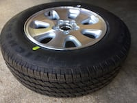 01 jeep alloy wheel & michelin 235 65 r17 Jackson, 39211