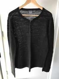 AX black long sleeve top Vancouver, V6H 3R9