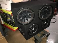 Car sound system components New York, 10011