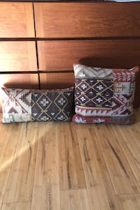 Grandin Road Kilim indoor throw pillows(set of two)