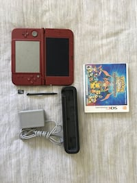 New 3ds xl including game, charging dock, charger and case San Jose, 95132